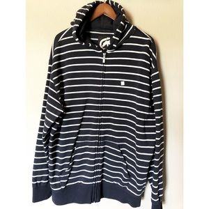 Ecko Unlimited Striped Hooded sweater